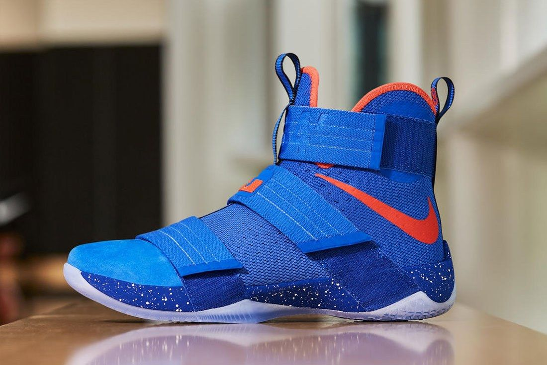 Two New Pe Colourways Of The Nike Zoom Le Bron Soldier 10 7