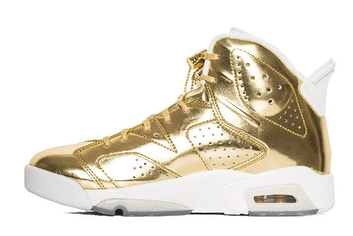 Air Jordan 6 Pinnacle Metallic Gold 3