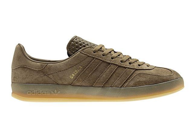 Adidas Gazelle Indoor Brown Profile 1