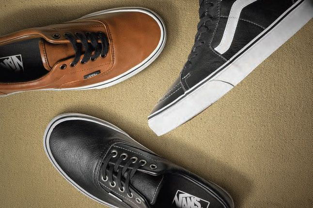 Vans Aged Leather Classics Pack Holiday 2012 1