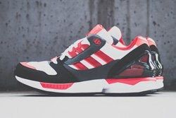 Adidas Zx 8000 Red White Thumb