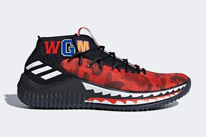 Adidas Bape Dame 4 1