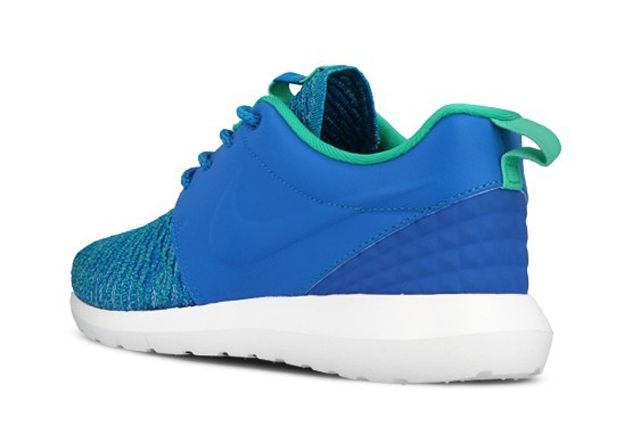 Nike Roshe Nm Flyknit Premium Soar Blue Atomic Teal 3