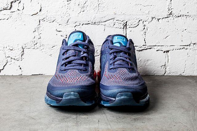 Nike Air Max 2014 Blue Recall Light Crimson 2