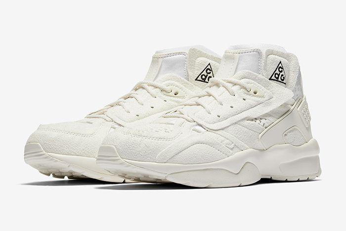 Cdg Nike Acg Mowabb White Snkrs 1