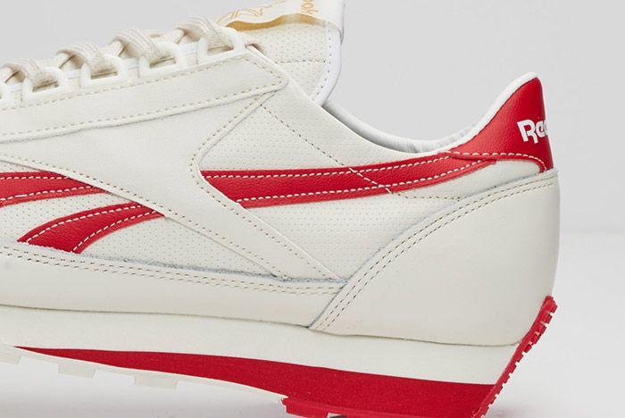 Reebok Aztec Leather White Red 3