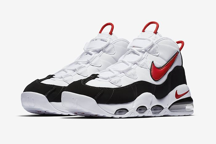 Nike Air Max Uptempo 95 Og White Black Red Ck0892 101 Release Date Pair