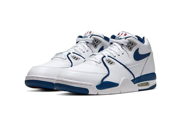 Nike Air Flight 89 True Blue Cn5668 101 Front Angle