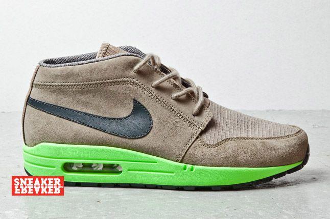 Nike Wardour Max Olive Lime 1 2