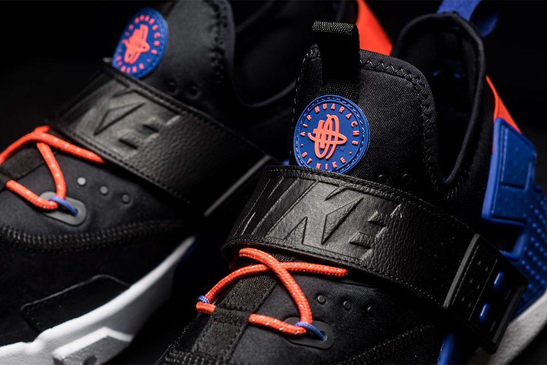 Nike Air Huarache Drift Premium Black Rush Violet Rush Orange Ah7335 002 Sneaker Freaker 6