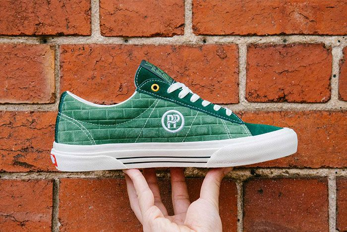 Vans Pass Port Sid Pro Bomber Pack Green Red Side