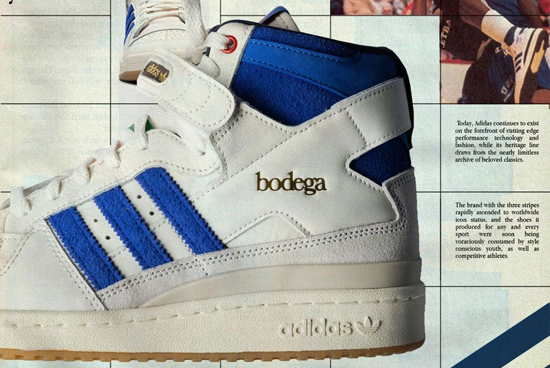 Bodega x adidas Forum
