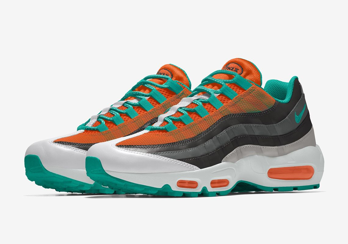 Nike By You Air Max 95 Angled
