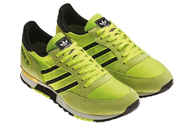 Adidas Spring Summer Neon Running Pack Green Yellow Angle 1