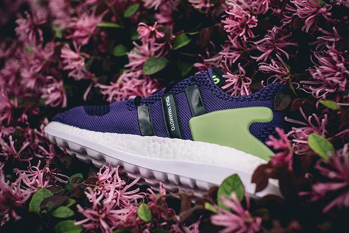Adidas Y 3 Pure Boost Zg Knit Purplegreen5