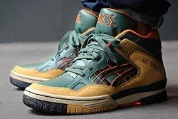 Asics Gel Spotlyte Dark Green Thumb