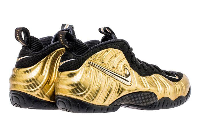 Nike Air Foamposite Pro Metallic Gold2