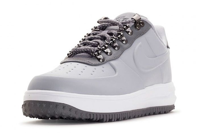 Nike Lunar Force 1 Low Duckboot Wolf Grey3