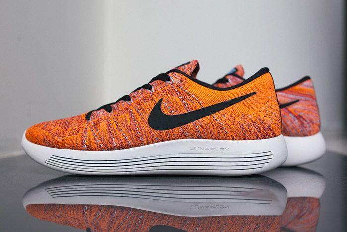 Nike Lunarepic Flyknit Low Orange Red 6