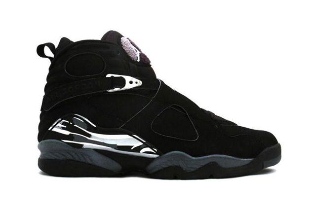 Air Jordan 8 Chrome Black 2
