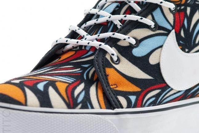Nike Toki Textile Midasgold Pimento Lace Detail 1