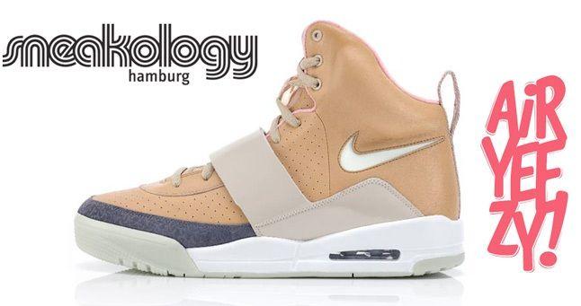 Air Yeezy Tan Launch Sneakology 1