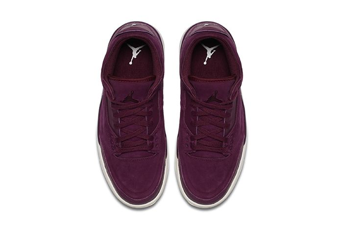 Air Jordan 3 Wmns Bordeaux Official 2