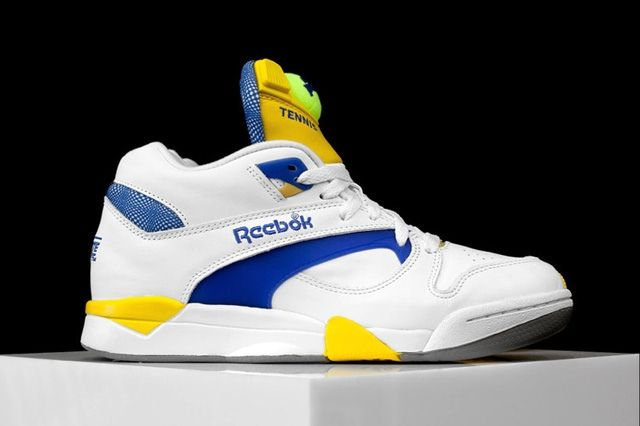 Reebok Court Victory Pump Ion Blue 4