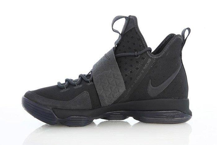 Nike Lebron 14 Triple Black 7