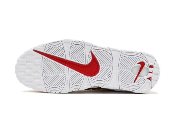 Supreme X Nike Air More Uptempo Metallic Gold2