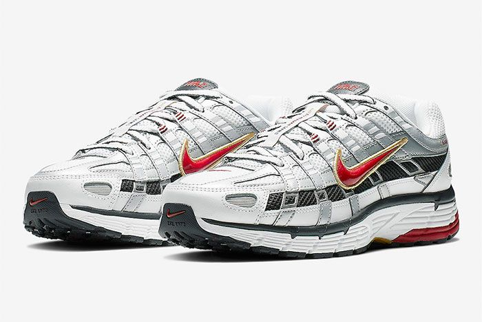 Nike P 6000 Silver Front Angle Shot 3