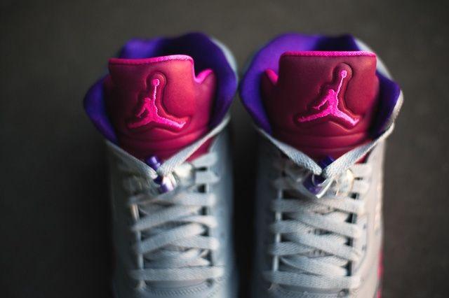 Air Jordan 5 Cement Raspberry 3