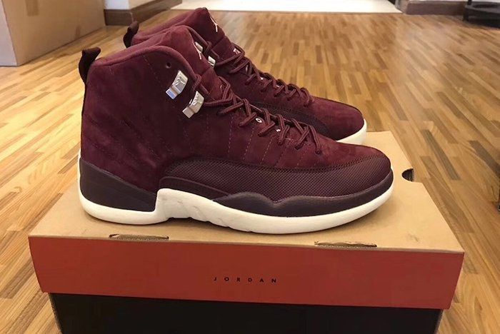 Nike Jordan 12 Bordeaux 4