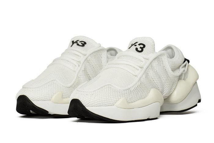 Adidas Y 3 Ren White F99798 Three Quarter Angle Shot
