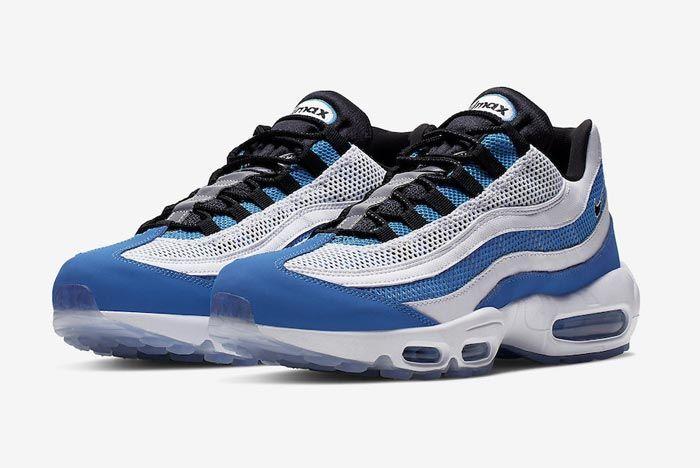 Nike Air Max 95 Essential Blue White Pair