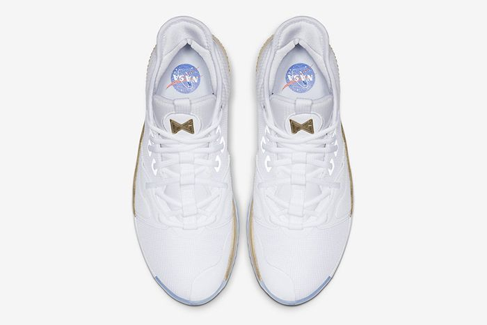 Nike Pg 3 Nasa Apollo Missions White Gold Release Date Top Down