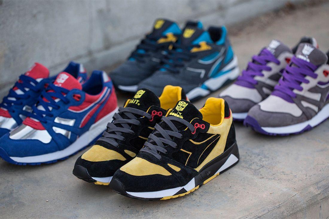 Bait Transformers Diadora Highlight Reel Sneaker Freaker2