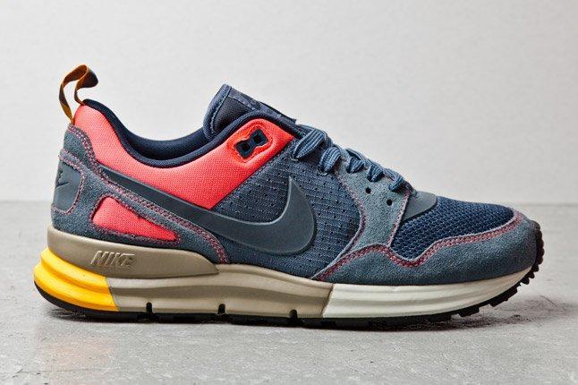 Nike Lunar Peg 89 Navy Pink Orange 1 1