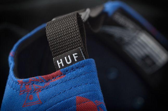 Huf X Remio Volley Blue Detail 1