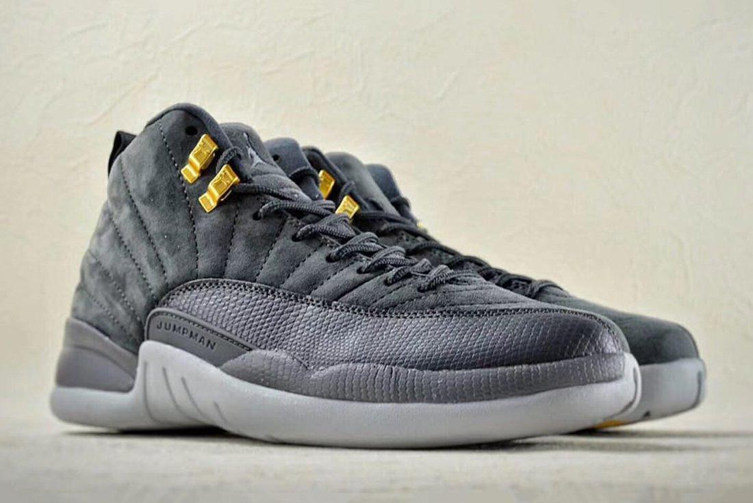 Air Jordan 12 Dark Grey 2