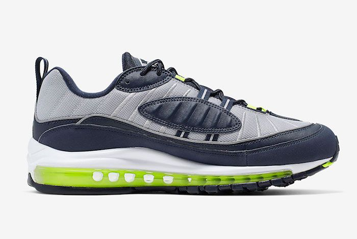 Nike Air Max 98 Obsidian Volt Cn0148 400 Release Date 2Side