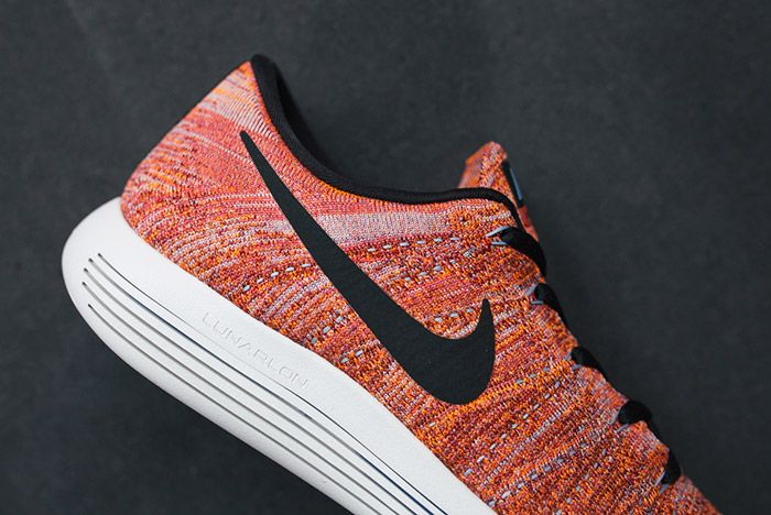 Nike Lunarepic Flyknit Low Orange Red 4