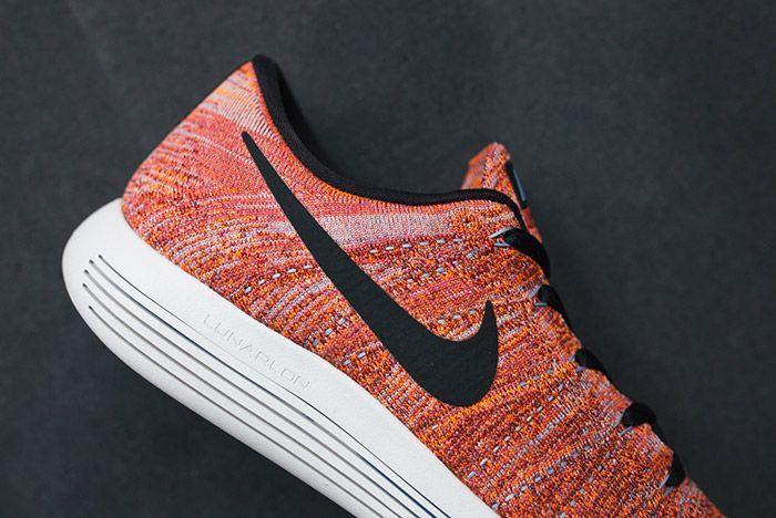 Nike Lunarepic Flyknit Low Orange Red 4