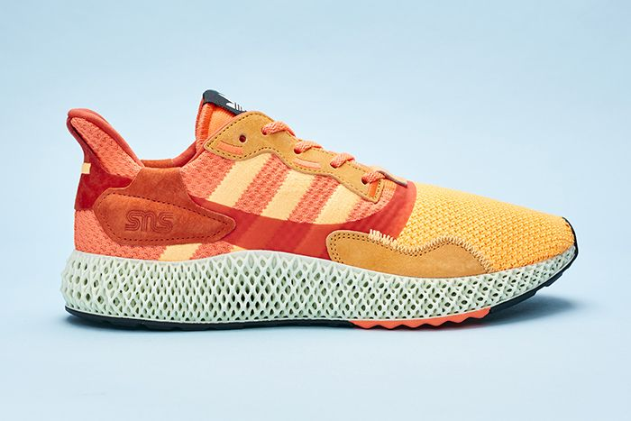Sneakersnstuff Adidas Consortium 20Th Anniversary Zx 4000 4D Sunrise Release Date Lateral