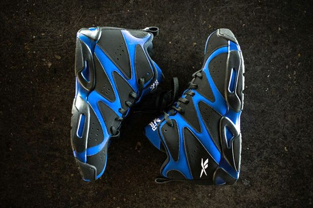 Reebok Kamikaze I Mid Black Royal 1