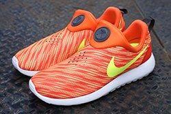 Nike Roshe Run Slip On Electric Orange Atomic Mango Thumb