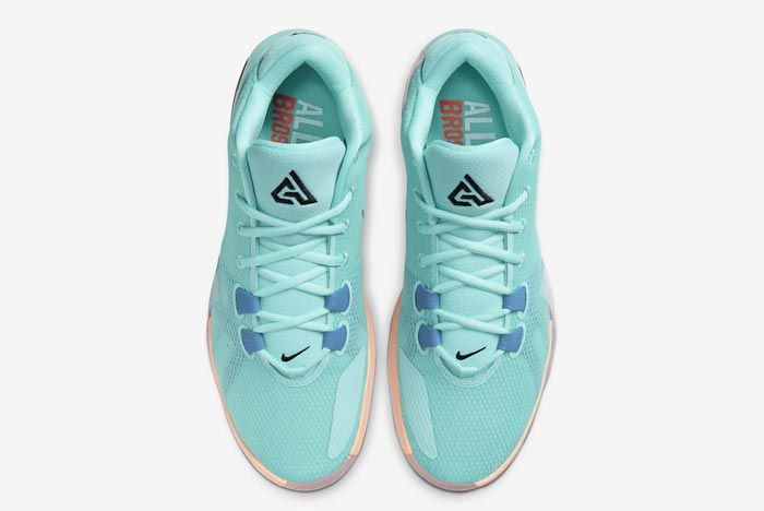 Nike Zoom Freak 1 All Bros Turquoise Top