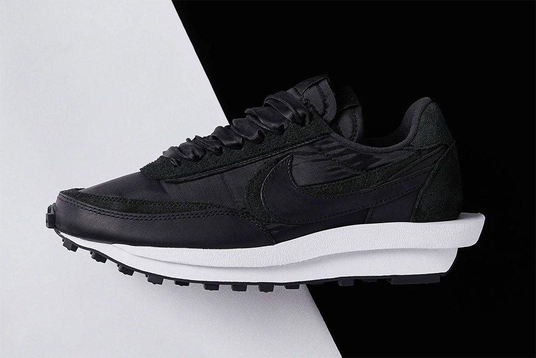 Sacai Nike Ldvwaffle Black