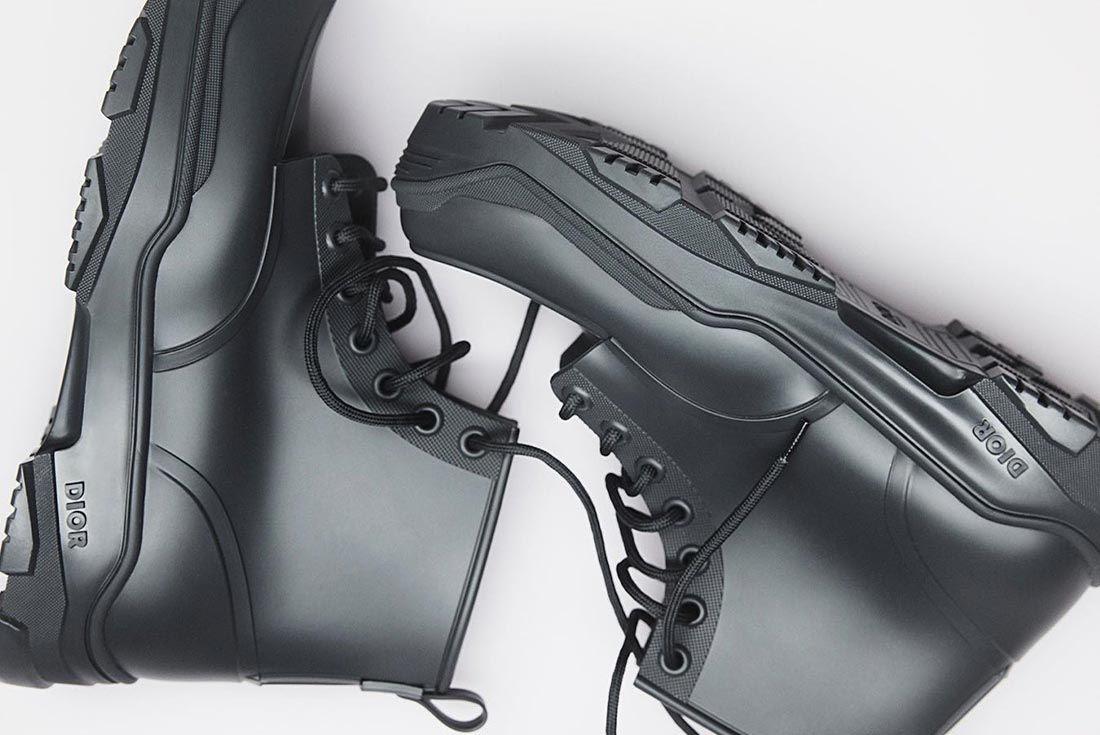 Dior Man Kim Jones Sneakers Black Top Shot