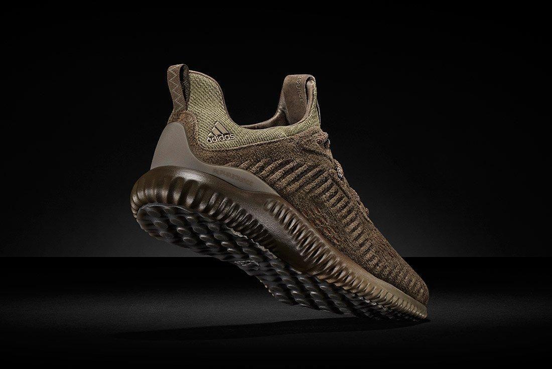 Adidas Alphabounce Suede 10